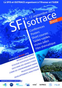 Affiche SFIsotrace 2014