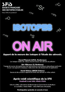 SFIS - Isotopes on Air